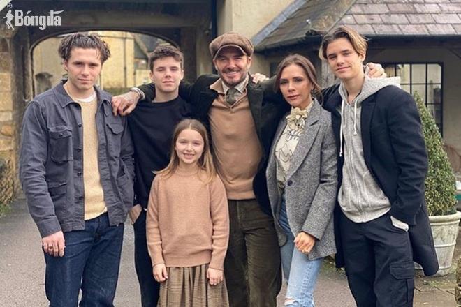 Ấn tượng bí quyết nuôi dạy con của David Beckham, bằng cái đầu và trái tim...lạnh