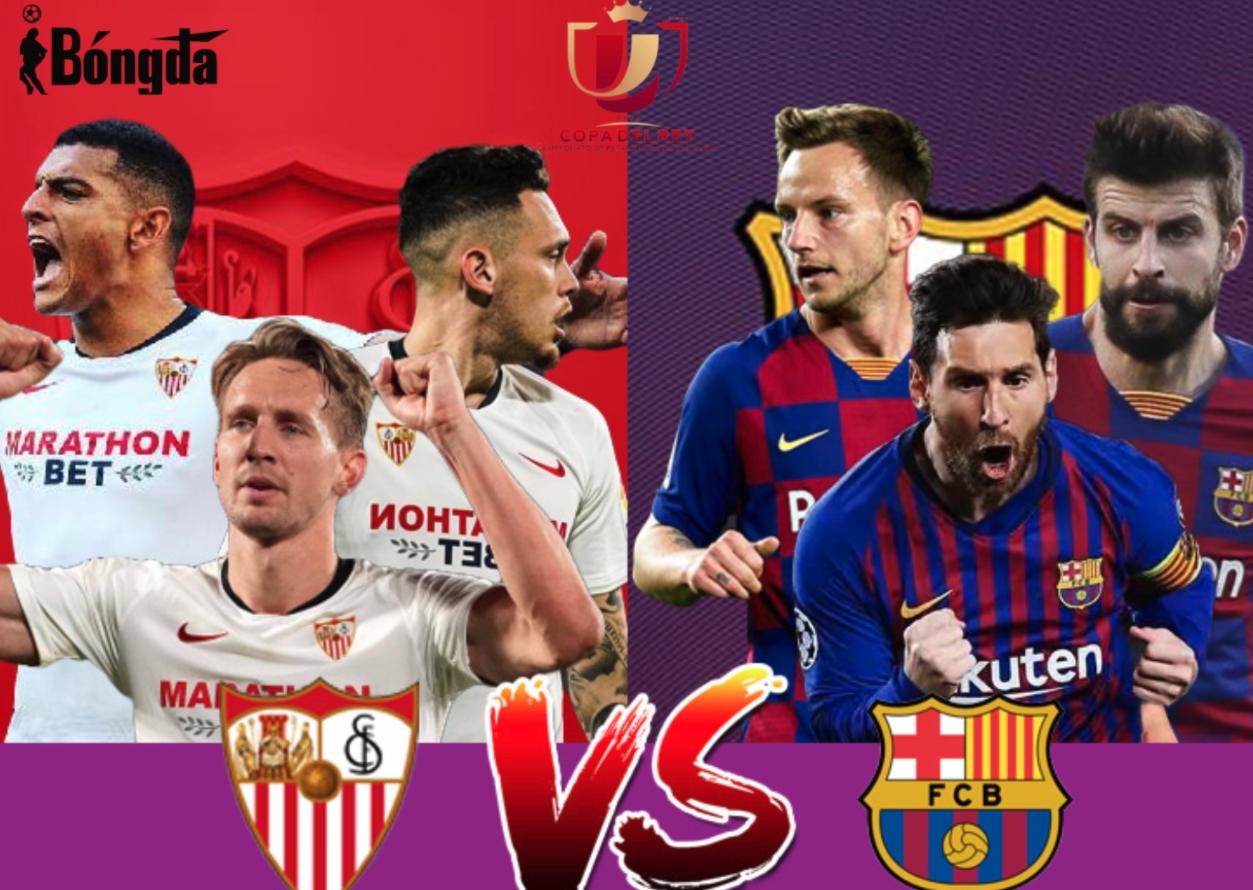 Bốn lý do để tin Barcelona sẽ lội ngược dòng thành công trước Sevilla tại tứ kết Copa del Rey