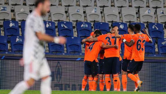 Manchester United thua sốc trước Istanbul Basaksehir tại Champions League