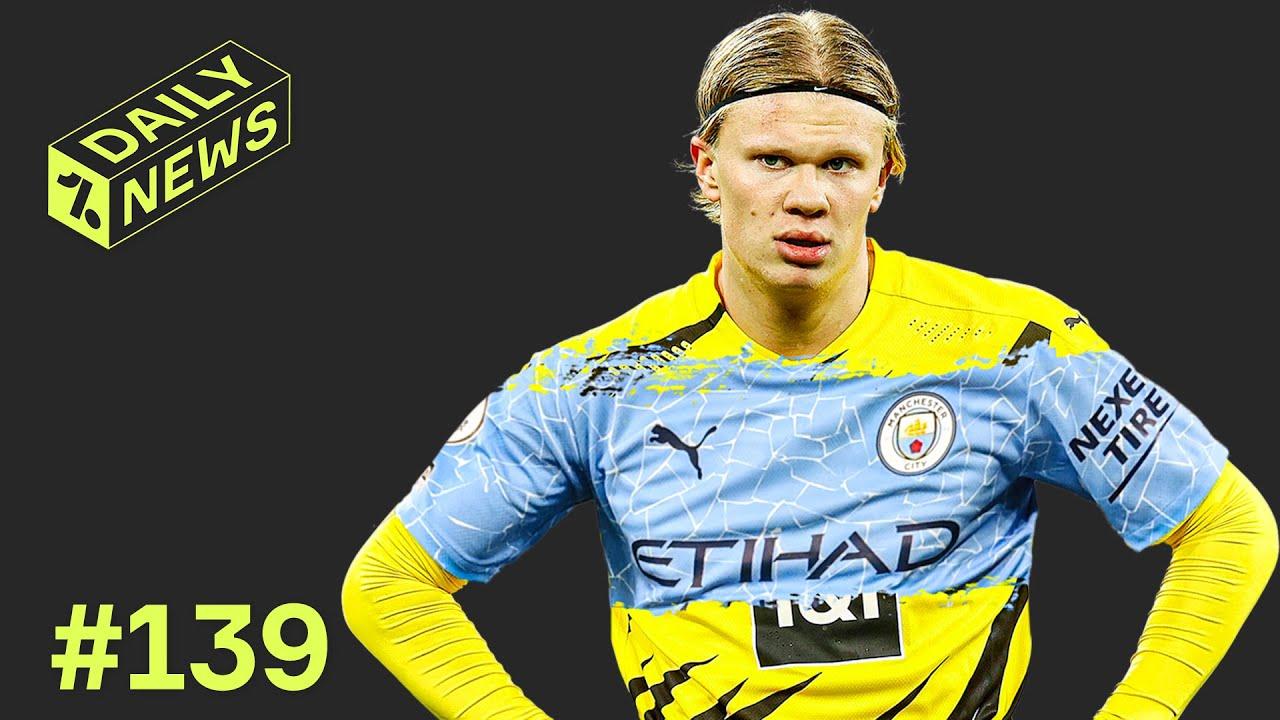 Haaland đứng đầu danh sách mơ ước của Manchester City (Ảnh: OneFootball English)