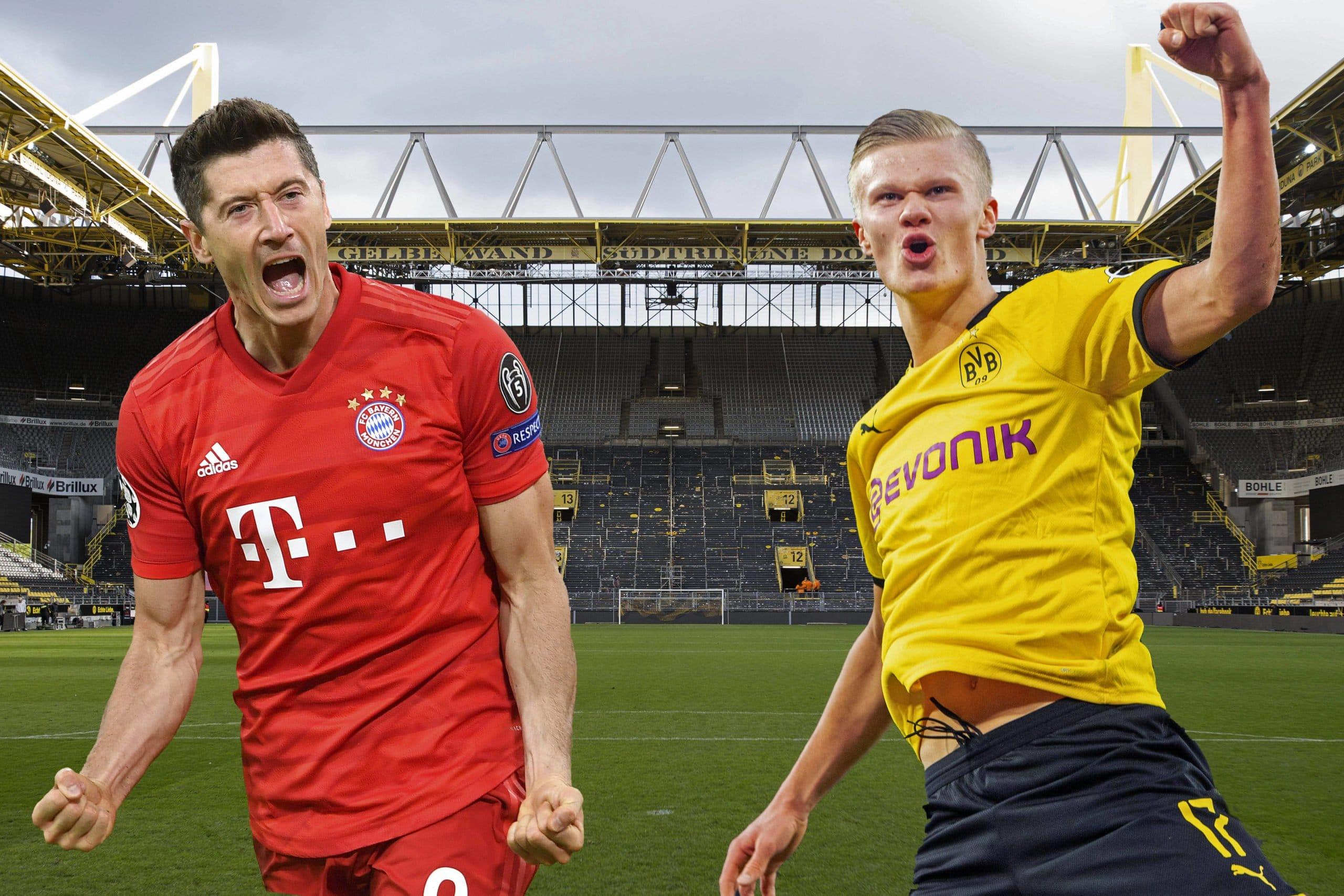 """Erling Haaland của Borussia Dortmund ca ngợi khả năng ghi bàn """"điên rồ"""" của Robert Lewandowski"""