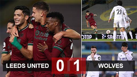 Bàn thắng bất ngờ, Leeds nếm trái đắng trên sân nhà