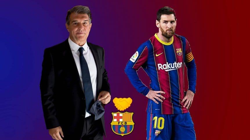 Tân chủ tịch Barcelona tập trung chú ý về việc giữ chân Messi