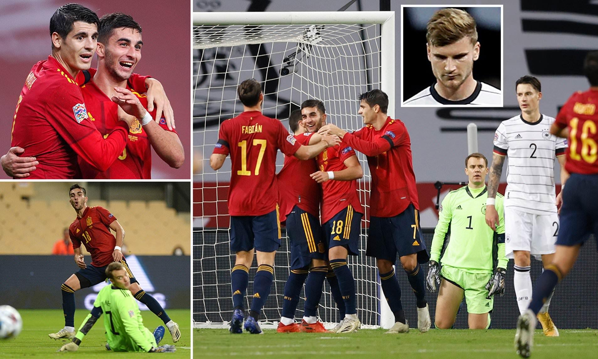 Tây Ban Nha 6-0 Đức: Thất bại nặng nề nhất của Đức và những con số kỷ lục
