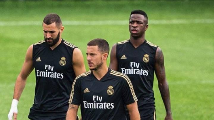 Bộ ba đắc lực của HLV Zidane khiến Hazard khó trở lại