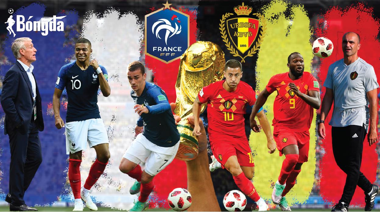 Nhận định Bỉ vs Pháp 8/10: Cặp đấu nhiều duyên nợ
