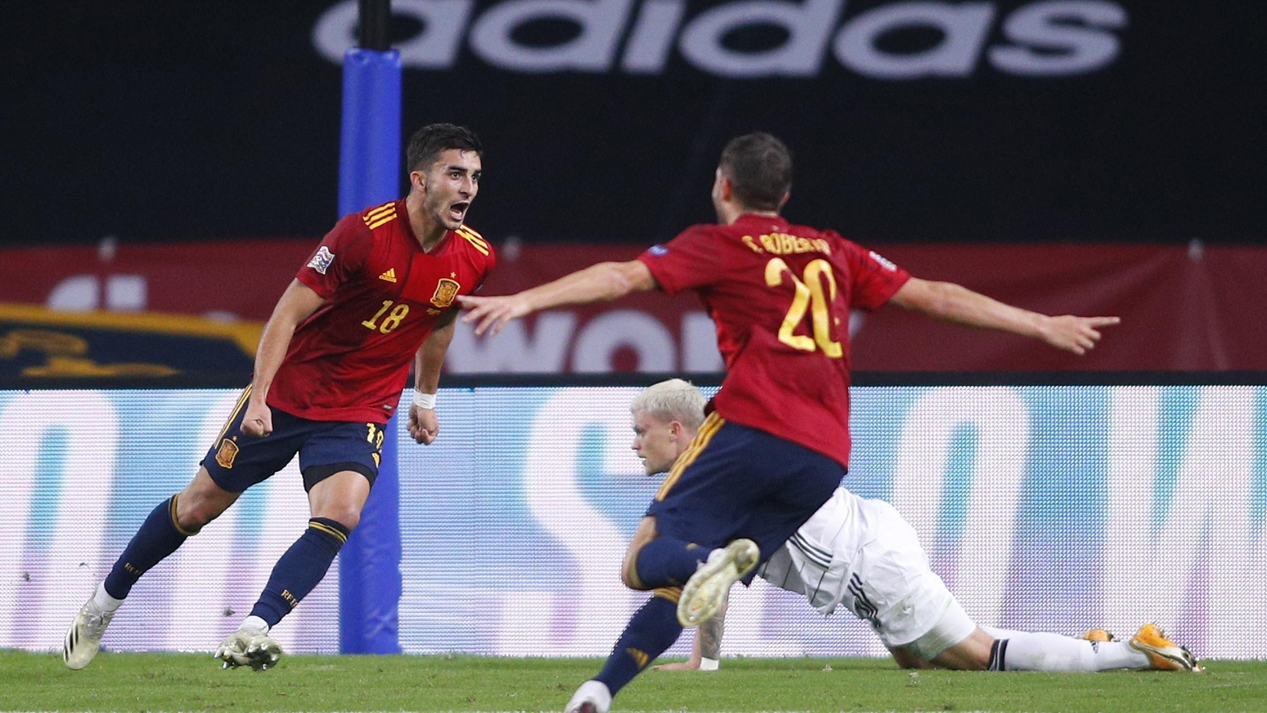 """Đức thất bại """"muối mặt"""" 0-6 trước Tây Ban Nha tại Nations League"""