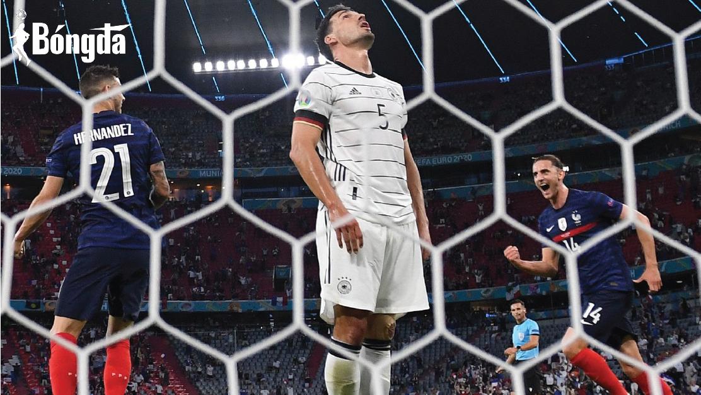 EURO 2020: Hummels phản lưới nhà khiến Đức ôm hận