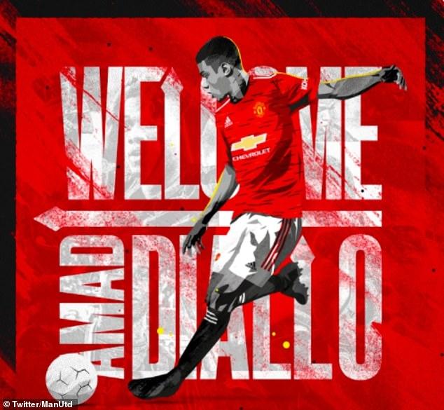 Man Utd chính thức nghênh đón tân binh Amad Diallo