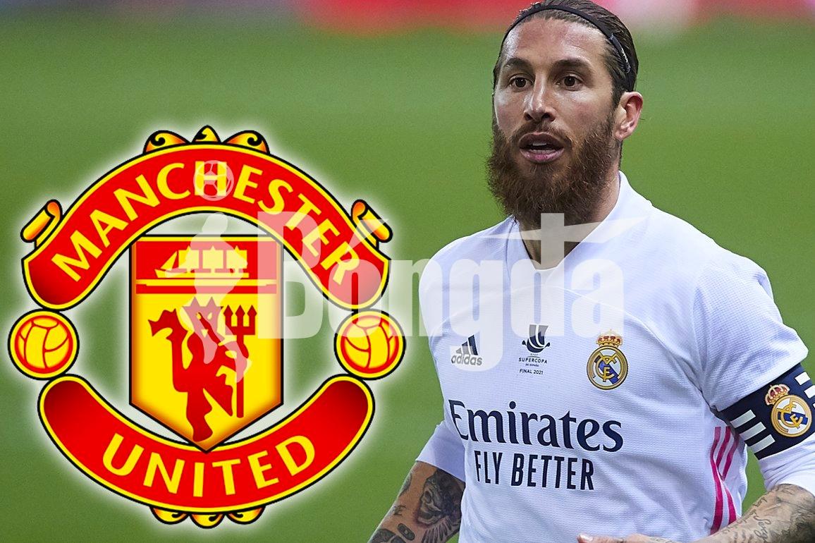 """Manchester United: Một chút hy vọng """"le lói"""" khi kế hoạch chuyển nhượng Sergio Ramos đi vào """"ngõ cụt"""""""