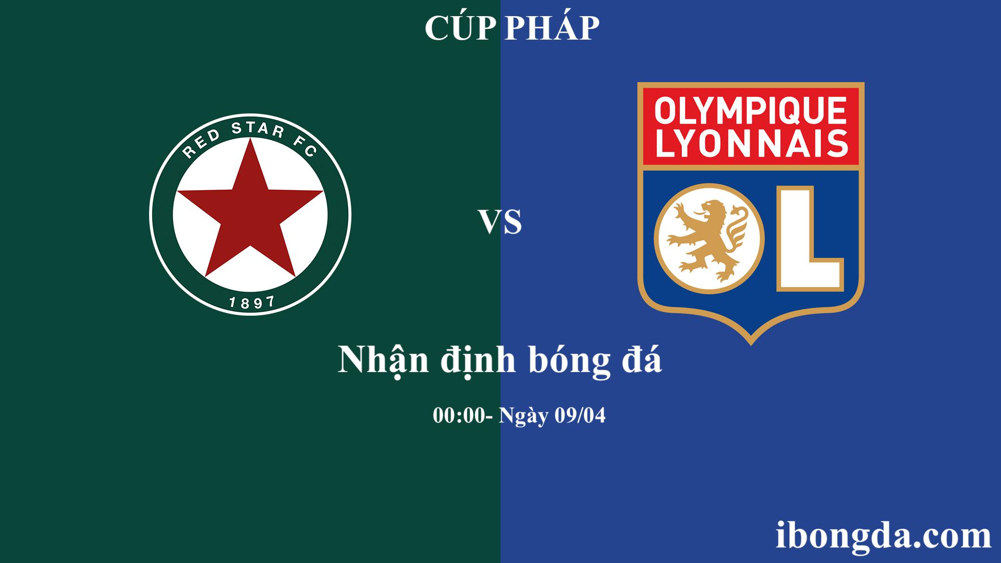 Vào lúc 0h thứ sáu 09/04 Red Star và Lyon sẽ có cuộc chạm trán