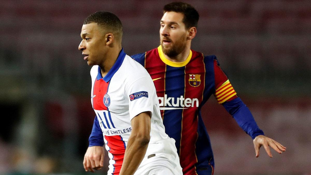 """Mbappe """"lơ đẹp"""" Messi sau chiến thắng trước Barcelona"""