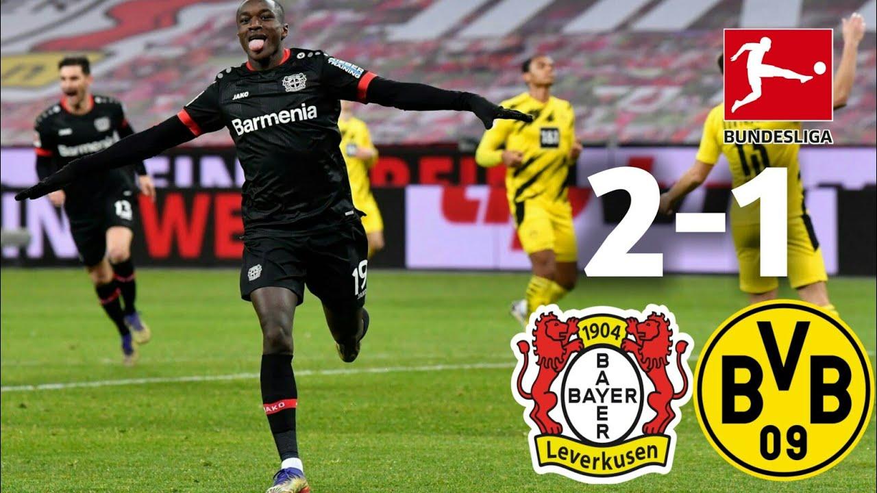 Dortmund thua Leverkusen 1-2 trong thất bại gần nhất ở Bundesliga