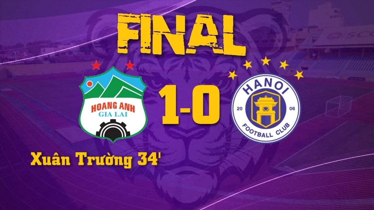 CLB HAGL 1-0 Hà Nội FC: Xuân Trường ghi bàn ngoạn mục