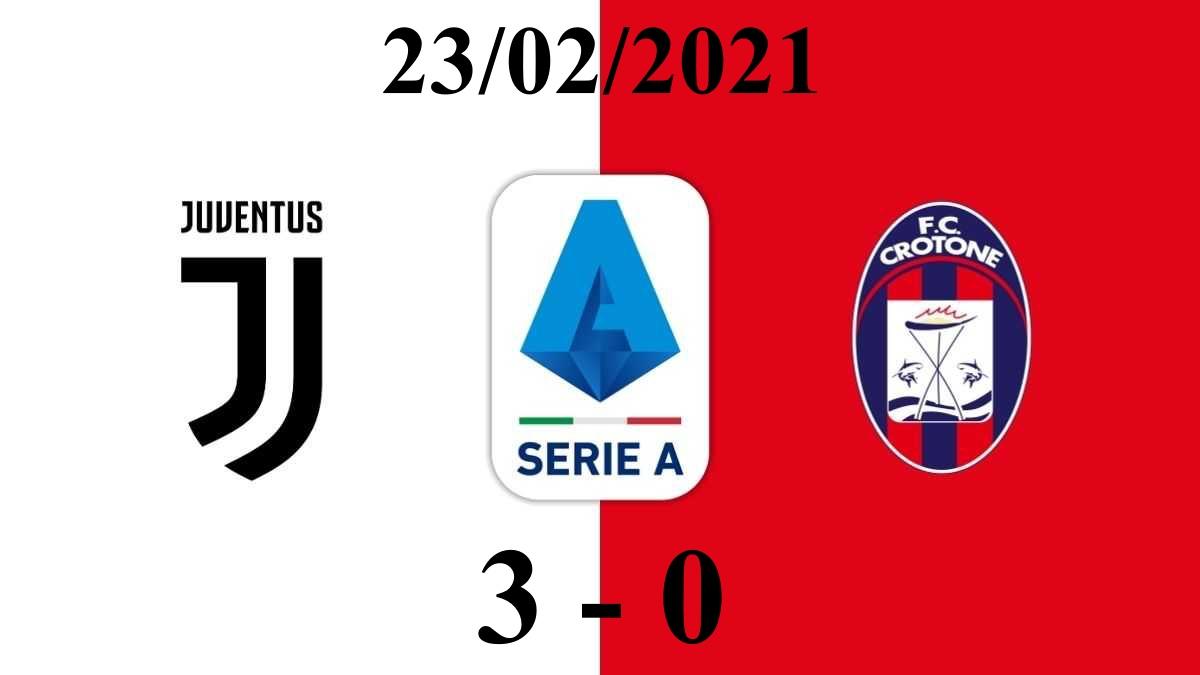 Đánh bại Crotone, Ronaldo xuất sắc đưa Juventus vươn lên top 3 bảng xếp hạng Serie A