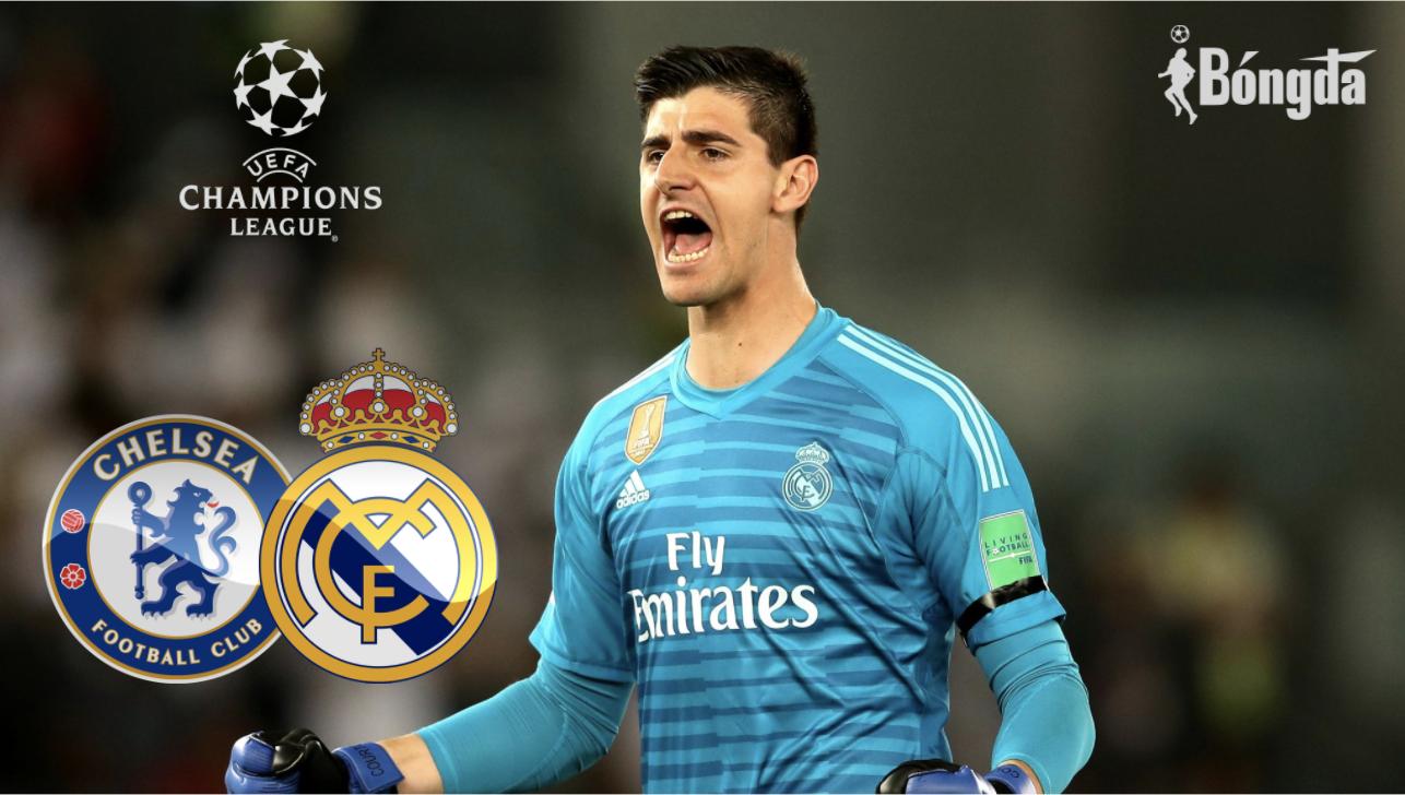 Real Madrid vs Chelsea: Courtois muốn đánh bại đội bóng cũ