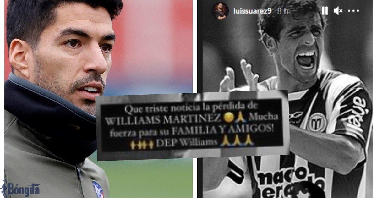 Đồng đội cũ của Luis Suarez tự sát khiến Uruguay hoãn các trận đấu