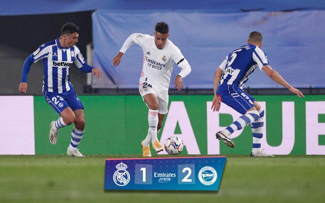 Real Madrid mắc sai lầm trong trận thua Alaves với tỉ số 1-2