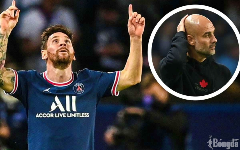 HLV Pep Guardiola ca ngợi Messi sau đại chiến Champions League