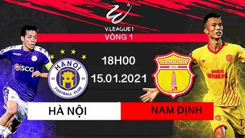 Hà Nội FC khủng hoảng hàng thủ trước trận đối đầu với Nam Định