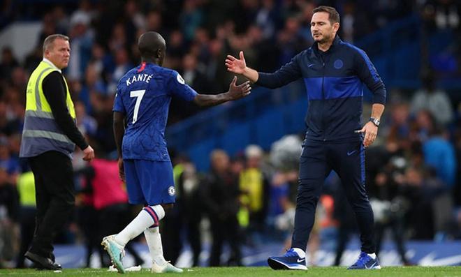 HLV Frank Lampard dành nhiều lời khen cho Kante