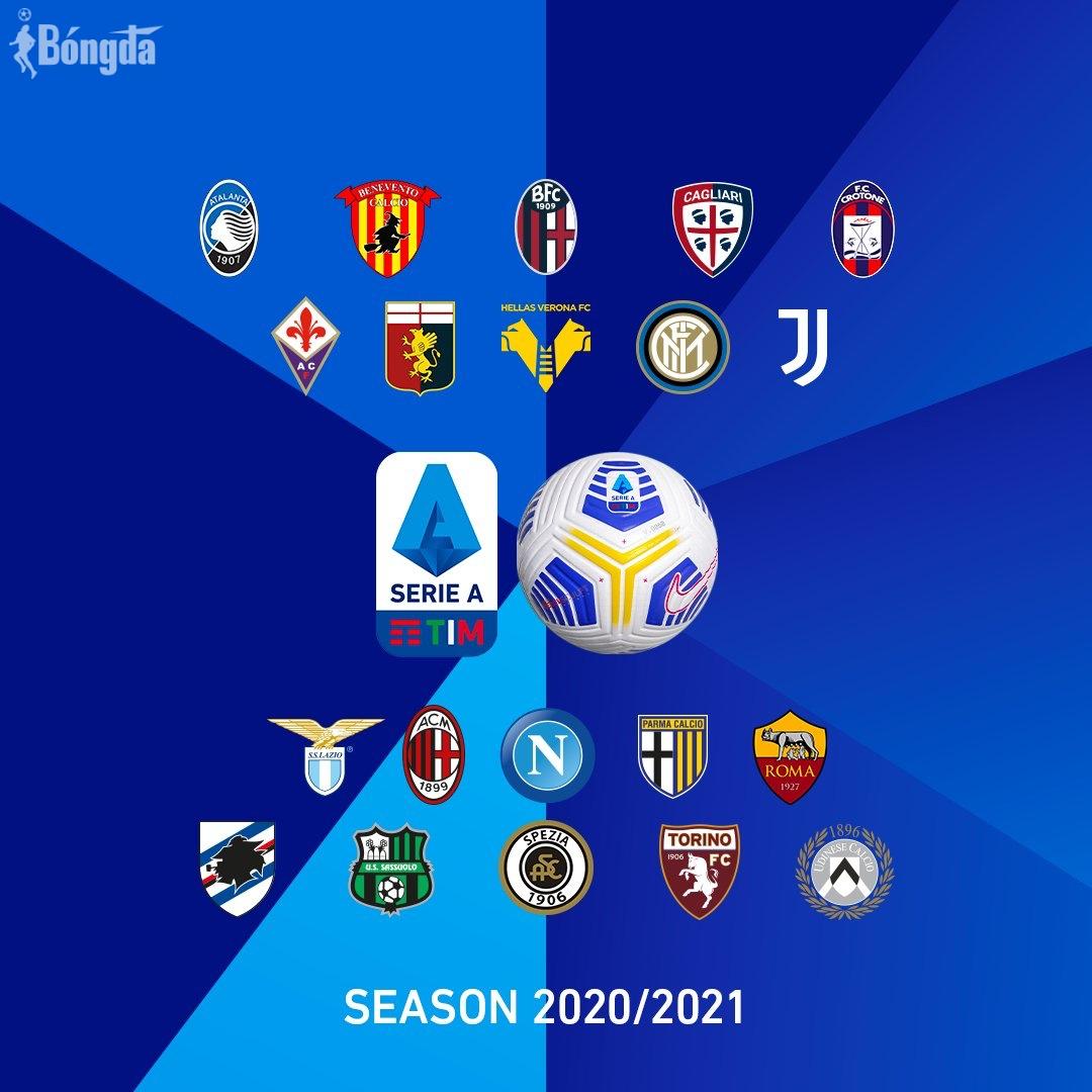 Bảng xếp hạng chung cuộc Serie A 2020/21: Juventus thành công vượt mặt Napoli