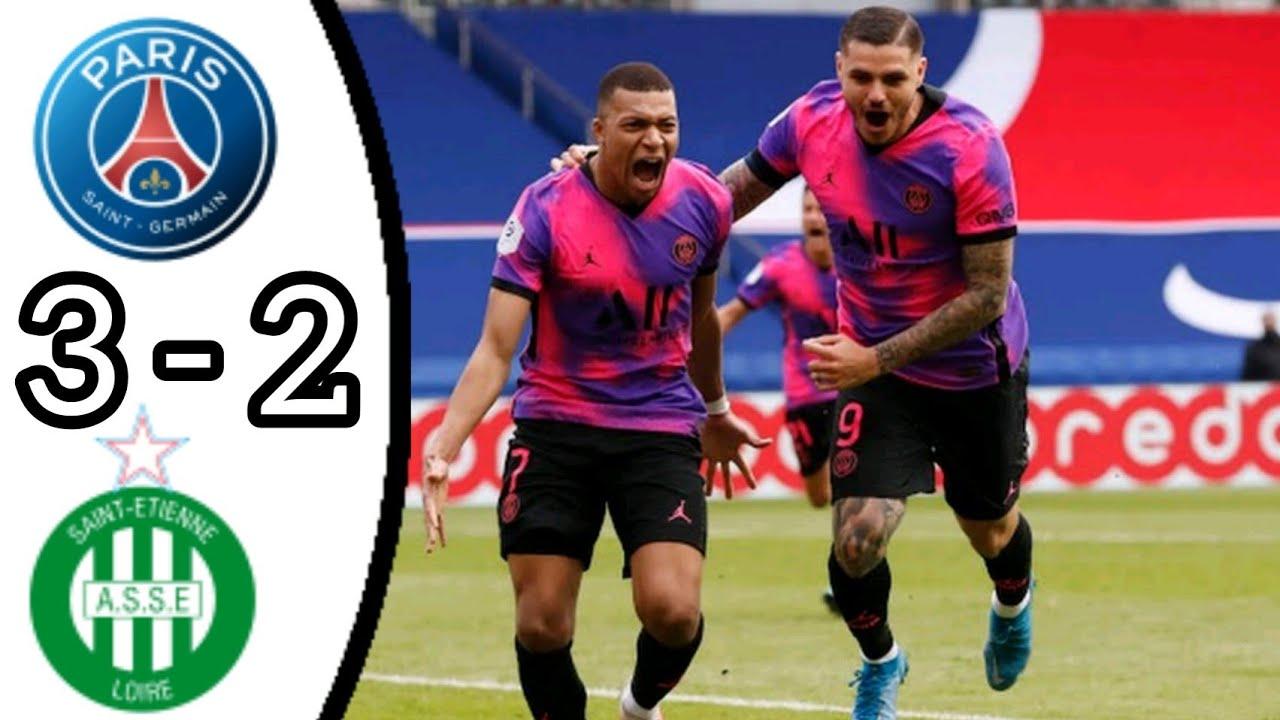 PSG huy hoàng đánh bại AS Saint-Etienne vào phút chót