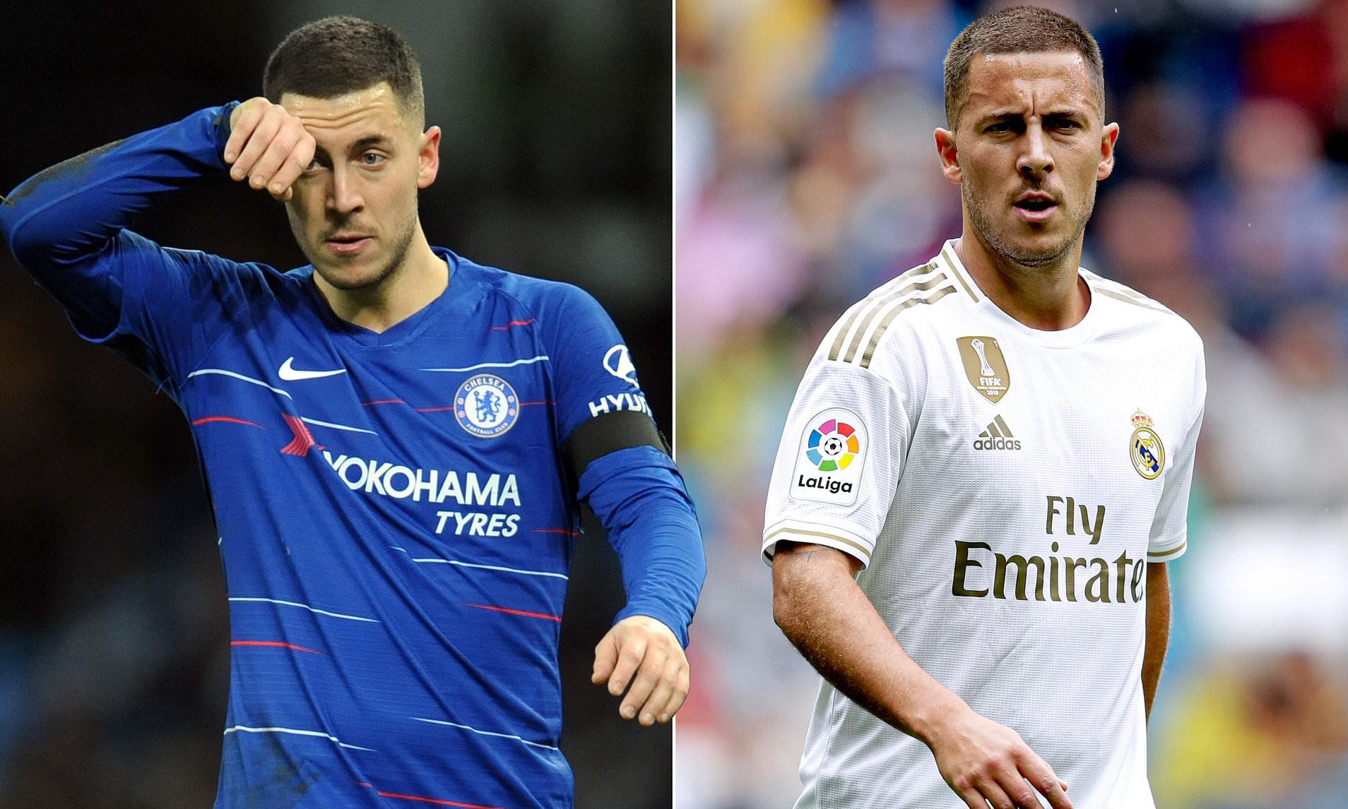 """Hazard sẽ """"tái ngộ"""" đội bóng cũ trong màu áo Real Madrid tại bán kết Champions League 2021"""