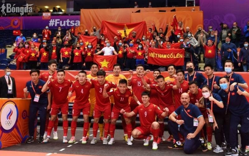 Việt Nam rời Futsal World Cup 2021 sau thất bại sít sao trước ĐT Nga