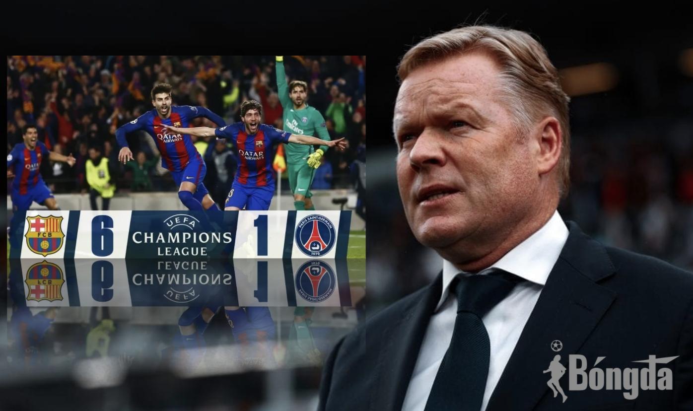 """HLV Koeman cho rằng """"không có gì là không thể"""" đối với Barcelona"""