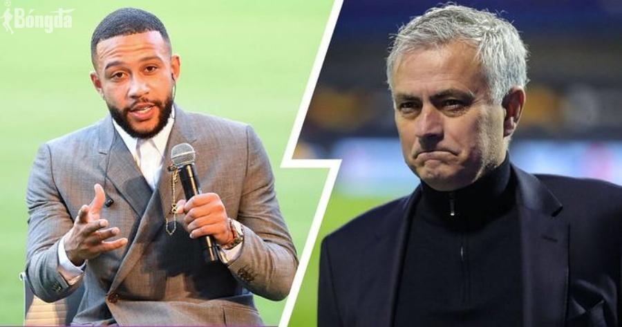 Tức tưởi rời Manchester United, Depay chỉ trích thẳng mặt HLV Mourinho