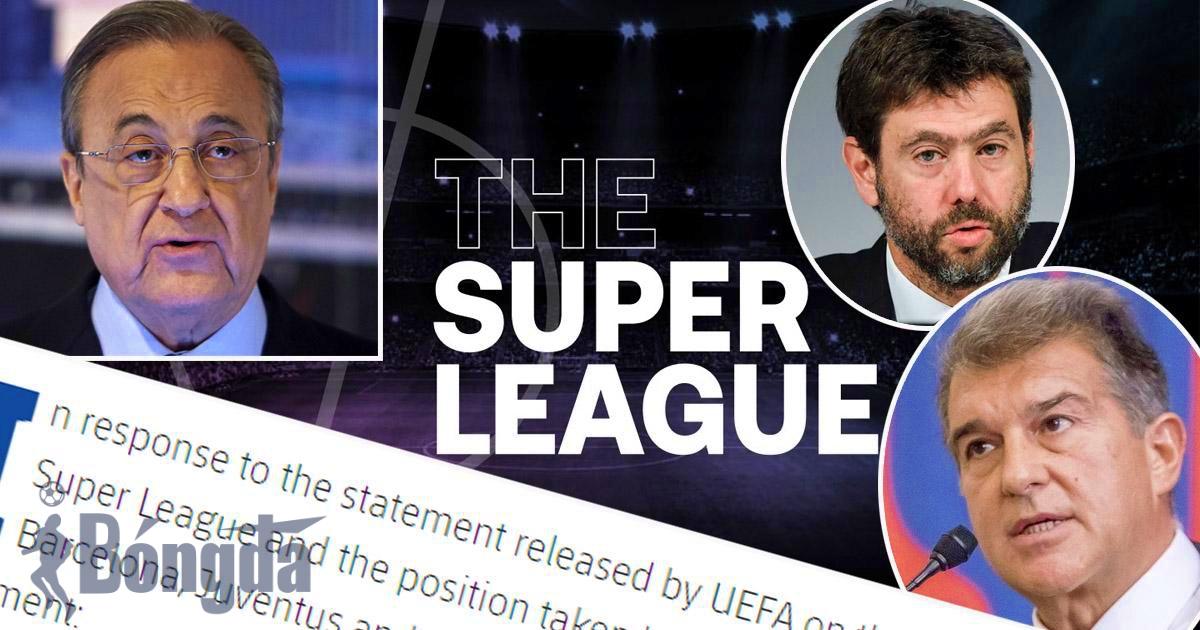 """NÓNG: Barcelona, Real Madrid và Juventus nên """"sợ hãi"""" vì bị CẤM tham dự Champions League?"""