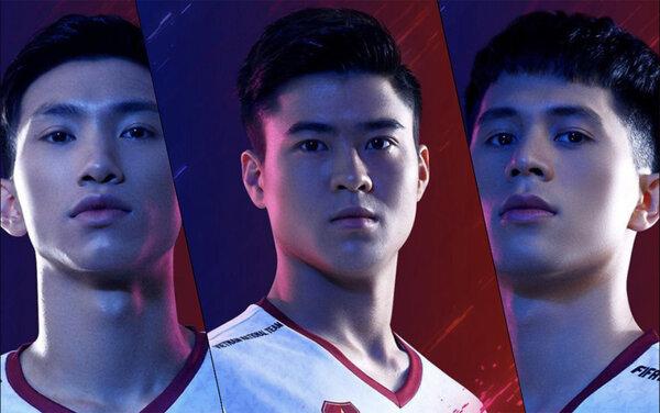Văn Hậu, Đình Trọng và Duy Mạnh không tập trung cùng đội tuyển Việt Nam