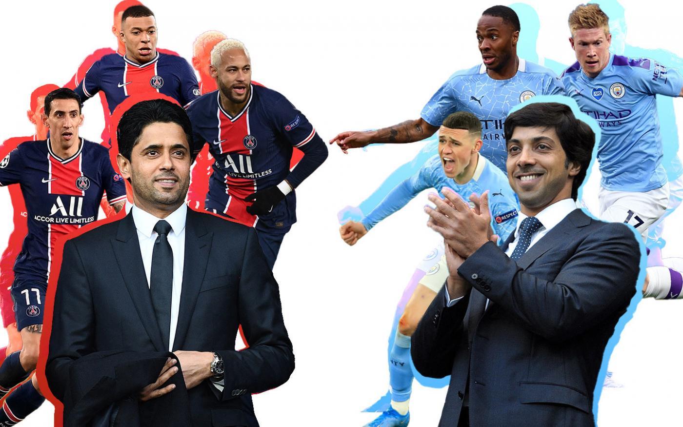 Cuộc đụng độ 1,5 tỷ bảng của Man City và PSG