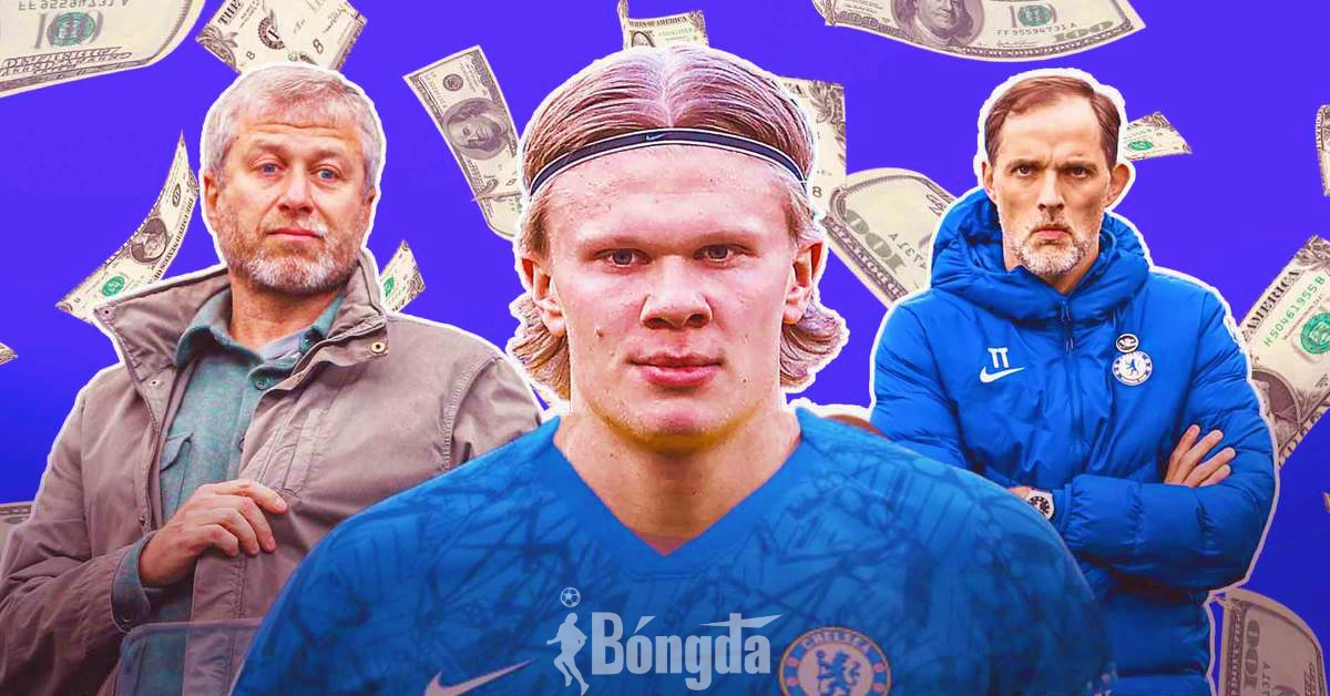 Chủ tịch Abramovich bật đèn xanh, Chelsea bung 130 triệu bảng mua Haaland