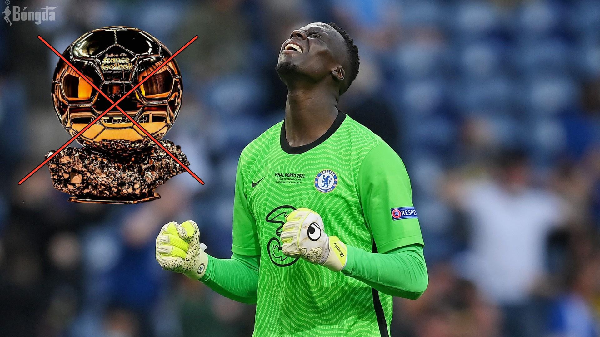 """""""Người nhện"""" Mendy của Chelsea lên tiếng về sự bất công Quả bóng Vàng 2021"""