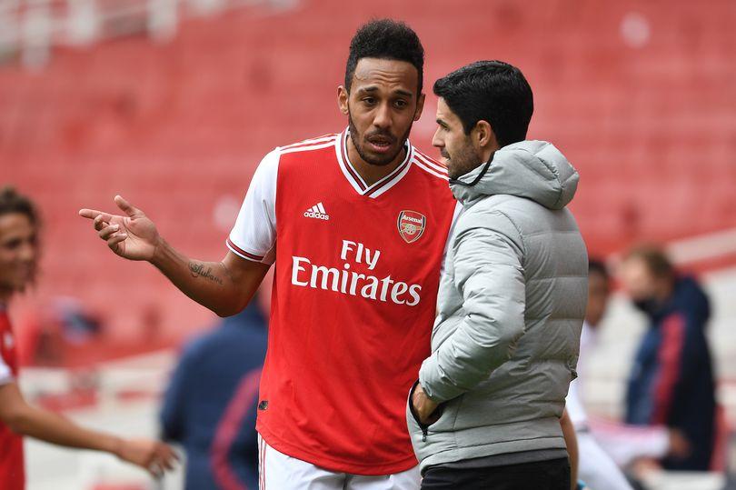 Pierre-Emerick Aubameyang đưa cho Mikel Arteta một vấn đề mới về Arsenal trong mùa giải tới