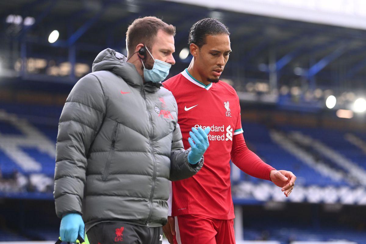 Virgil van Dijk bắt đầu tập luyện phục hồi