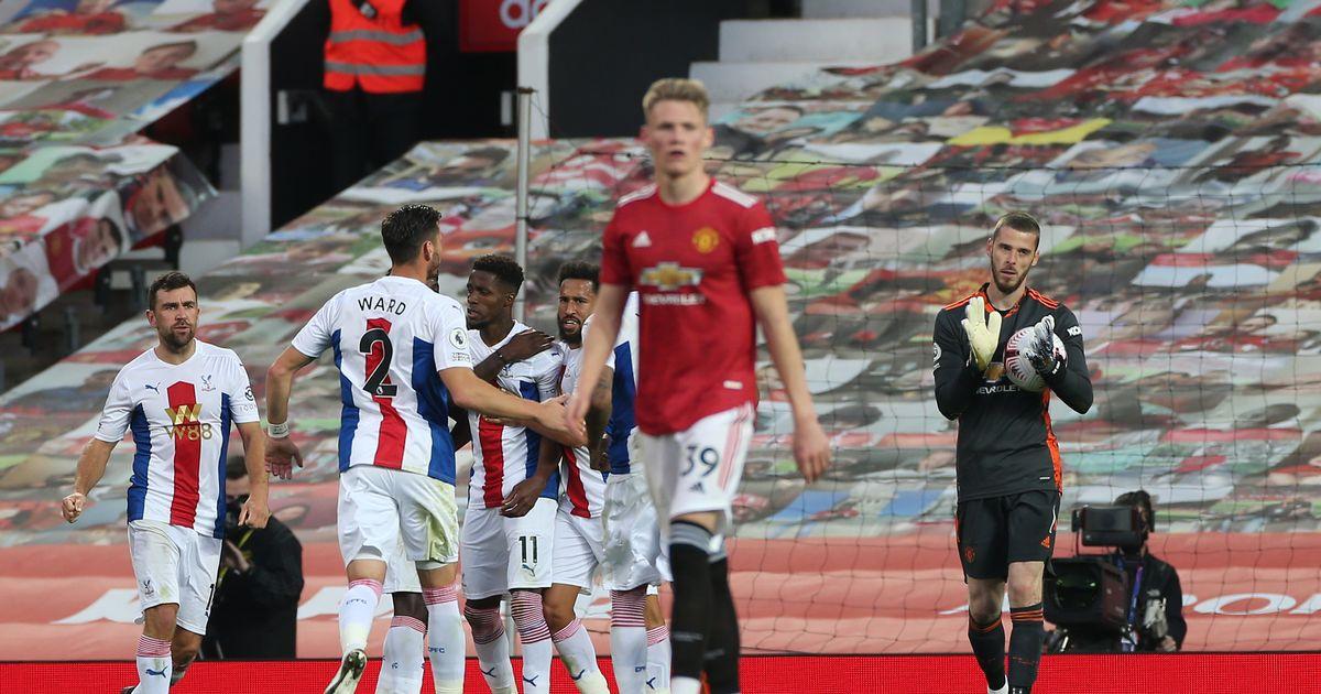 M.U thất bại trước Crystal Palace