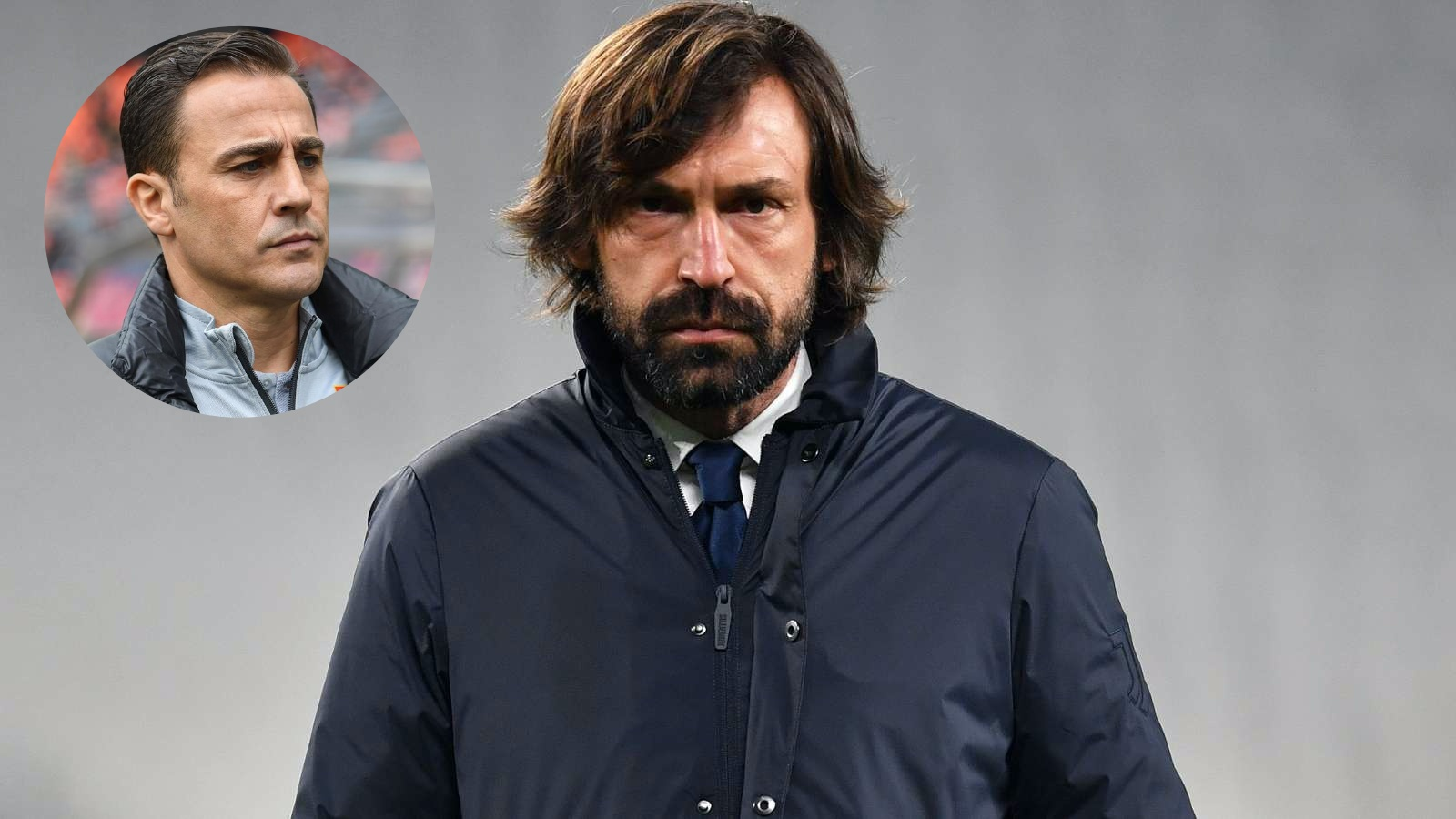 "Cannavaro nói về việc sa thải Pirlo, Juventus sẽ mắc ""sai lầm lần hai"" nếu thiếu sự kiên nhẫn"