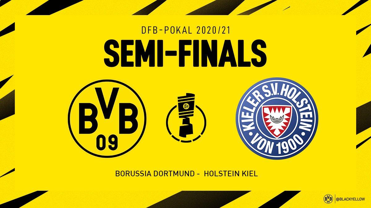Nhận định Bán kết Cúp bóng đá Đức 2020/21: Borussia Dortmund vs Holstein Kiel - Cuộc chiến không khoan nhượng
