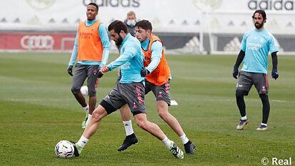 Hazard, Mariano, Odegaard và Jovic bỏ lỡ buổi tập cuối cùng trước trận đụng độ CLB Athletic