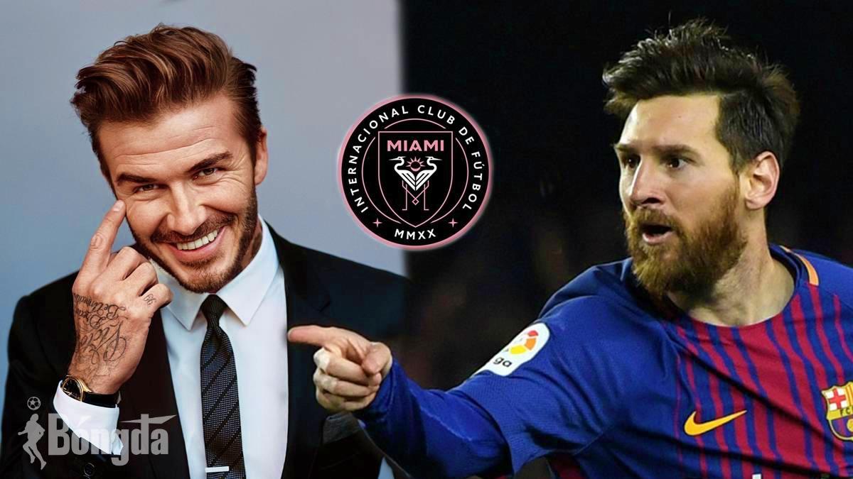 Lionel Messi sẽ đầu quân cho CLB Inter Miami của chủ tịch David Beckham?