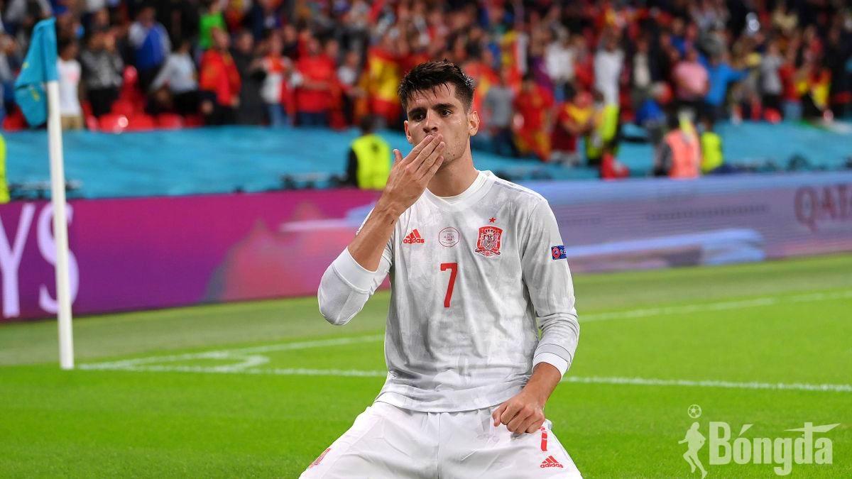 EURO 2020: Sắm vai Mbappe sút hỏng phạt đền, Alvaro Morata tiếc nuối thất bại của Tây Ban Nha