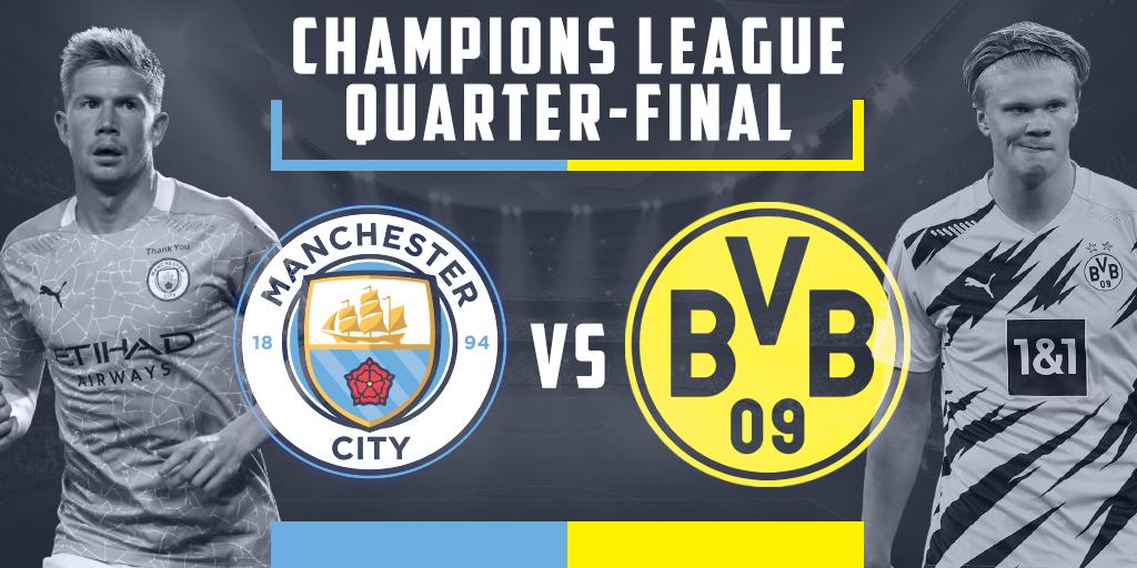 Nhận định Cúp C1: Cuộc chạm trán mang tính quyết định của Borussia Dortmund và Manchester City