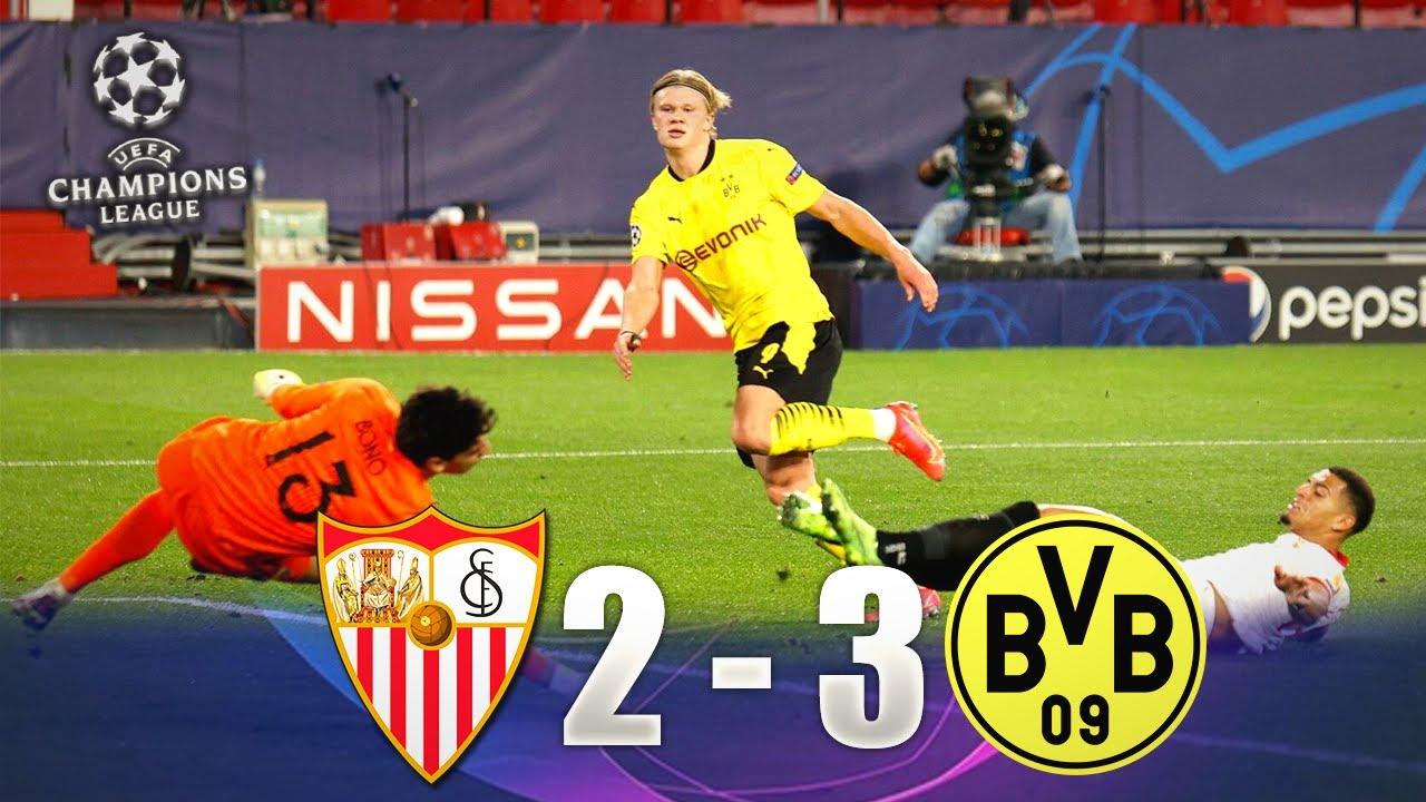 Borussia Dortmund quay trở lại Champions League với chiến thắng 3-2 trước Seville