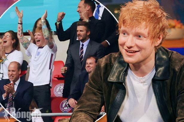 Hoàng tử nhạc Pop Ed Sheeran và khoảnh khắc thú vị tại EURO 2020