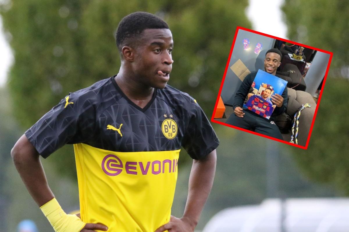 Youssoufa Moukoko thuộc top những cầu thủ tuổi teen hàng đầu châu  Âu