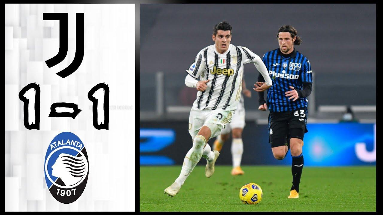 Juventus, Atalanta chia điểm trong trận hòa tại Serie A
