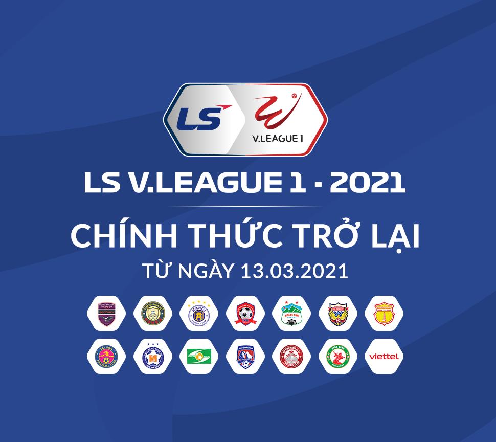 Lịch thi đấu bù vòng 3 V-League 2021
